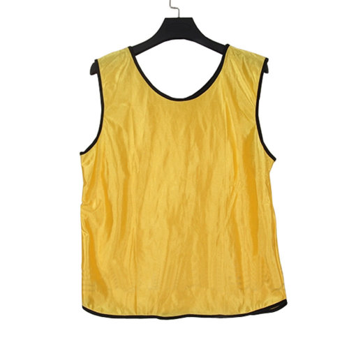 2354be547ad1 Set of 6 YELLOW One Size Basketball Soccer Scrimmage Vests Basketball Jersey  on OnBuy