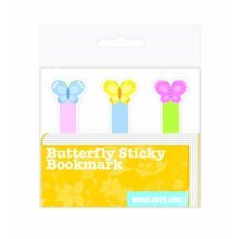 4m2u Butterfly Sticky Bookmark -  4m2u butterfly sticky bookmark 4M2U BUTTERFLY STICKY BOOKMARK ARTS & CRAFTS HOME FURNITURE DIY DECOR PHOTO BOOKS 3D