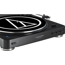 Audio-Technica AT-LP60BT Black Wireless Bluetooth Turntable