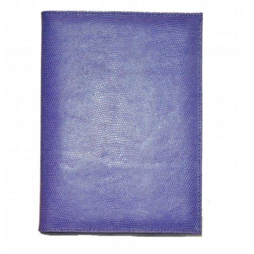 Budd Leather 550182L-17 Lizard Calf Pad Cover - Lilac