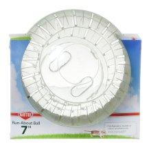 Superpet Run-about Ball Clear 18cm (7'')