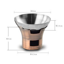 Stainless Steel Tea Accessories Tea Strainer/Tea Infuser With A Base (Stove)
