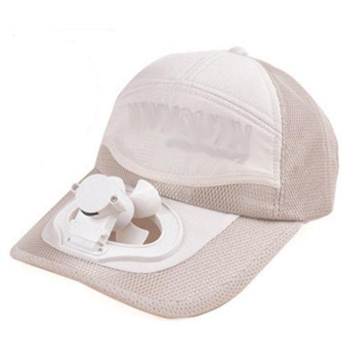 Summer Fan Hat with Fan Fishing Sun Visor Cap#I