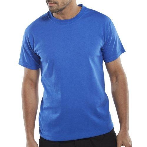 Click CLCTSHWRL T Shirt Heavy Cotton Royal Blue Large