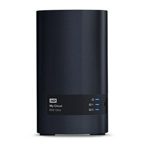 Western Digital My Cloud EX2 Ultra 4TB NAS Ethernet LAN Black