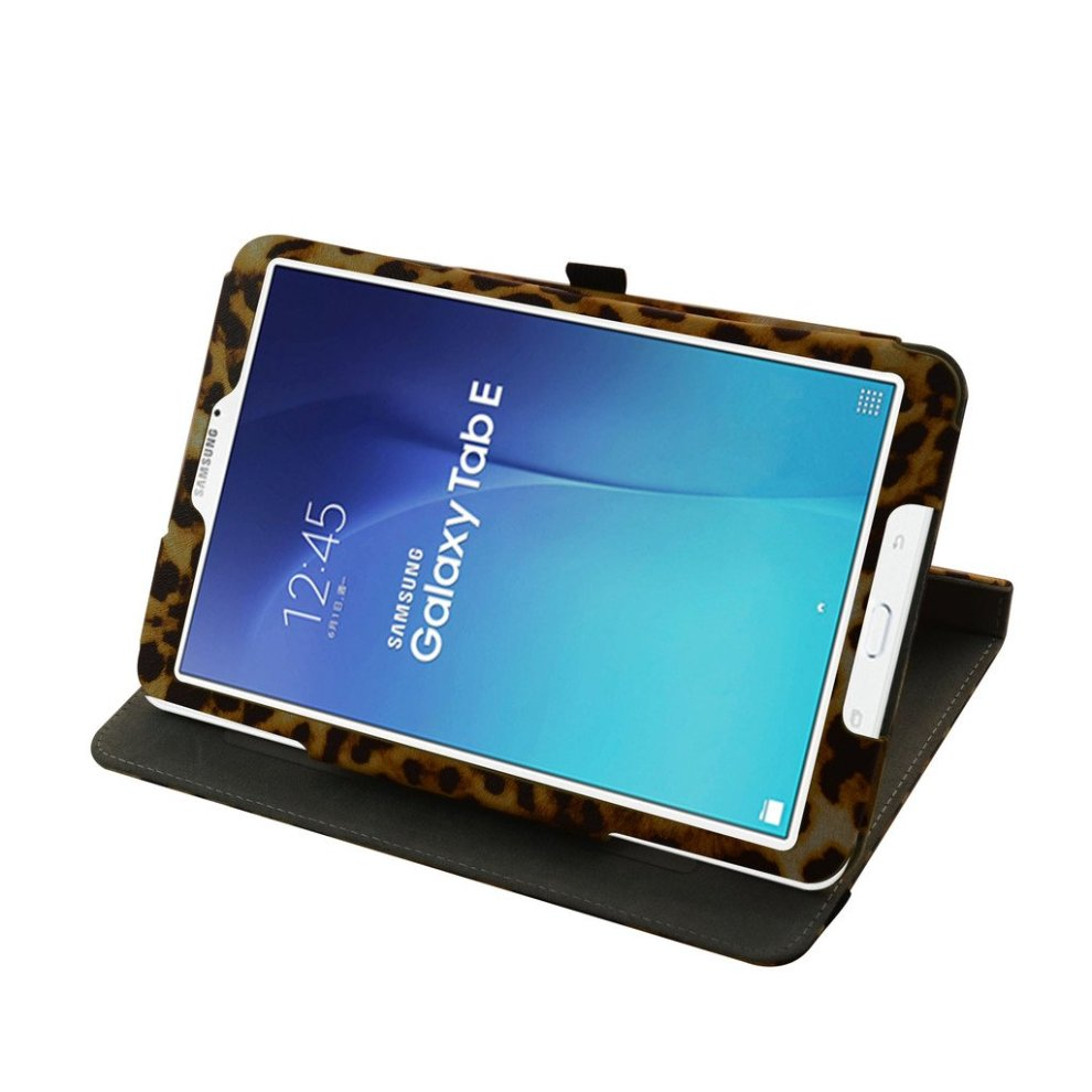 quality design 395ad c28e6 Samsung Galaxy Tab E 9.6 Rotating Case,Mama Mouth 360 Degree Rotary Stand  With Cute Lovely Pattern Cover For 9.6