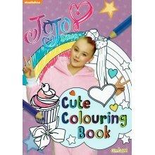 Jojo Siwa Cute Colouring Book