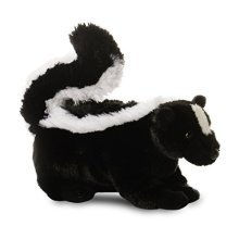 Aurora World 31189 8-inch Mini Flopsie Lil' Sachet Skunk Stuffed Toy - Flopsies -  flopsies sachet skunk plush cuddly soft toy teddy aurora mini lil