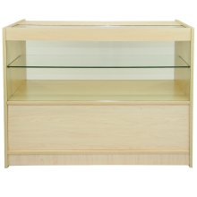 Maple Shop Counter Retail Display Unit C1200