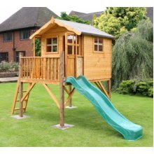 Poppy Playhouse with Tower & slide
