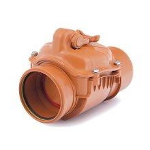 Polypropylene Check Non-return Valve Backwater Prevented 110 200mm