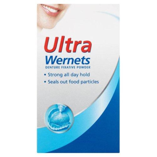 Wernets Polygrip Ultra Denture Fixative Powder, 40 g
