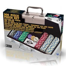 Spinmaster 6033157 Poker Set In Aluminium Case (300-piece) - Cdl Sp Master 300 -  cdl6033157 spin master 300 poker chi ps aluminium case cdl13909