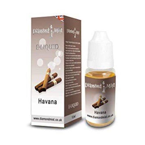 Diamond Mist 10 ml Havana E-Liquid