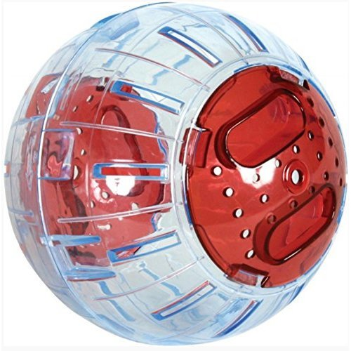 Zolux Exercise Ball for Small Animals 12.5cm Cherry Red