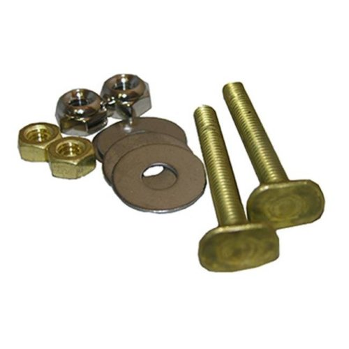 Larsen Supply 04-3637 0.25 in. Code Brass Toilet Closet Bolt Set