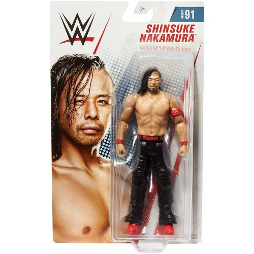 WWE Basic - Series 91 - Shinsuke Nakamura Figure