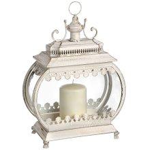 Antique White Elaborate Lantern