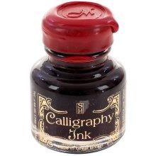 Manuscript Calligraphy Ink 30ml 6/Pkg-Ruby, MSRP $7.95 Per Bottle