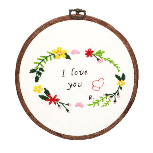 Special Gifts Handmade Embroidery Starter Kit Handmade Gifts for Lovers
