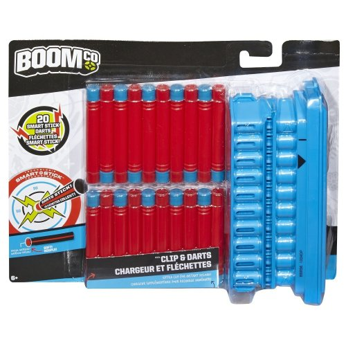 BOOMco. Clip and 20 Dart Pack (Discontinued by manufacturer)