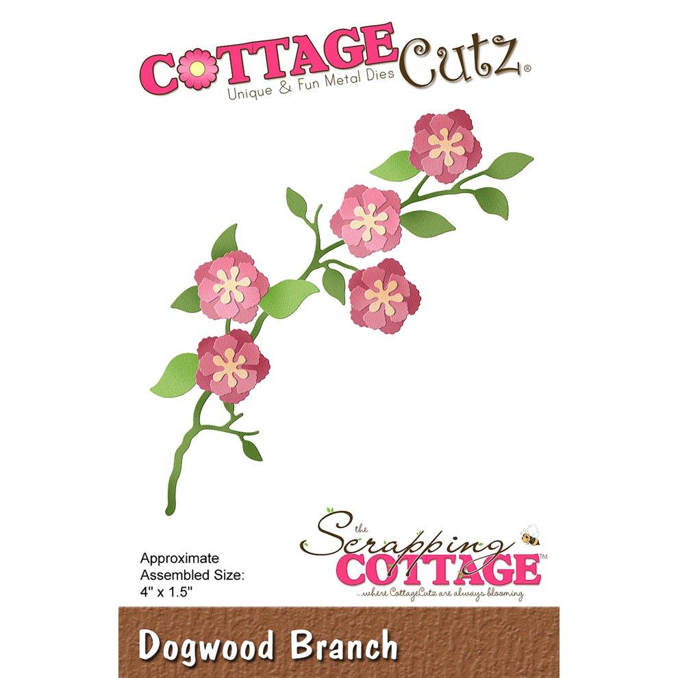 """CottageCutz Dies-Spring Meadow 3.1/""""X.7/"""""""