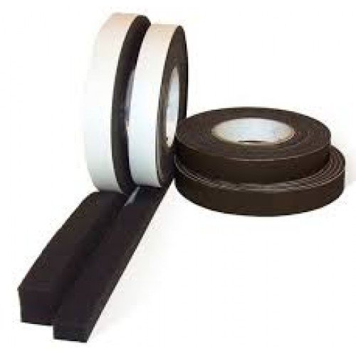 Expanding Foam Tape - 25mm wide x 3.3m long - 9mm to 20mm