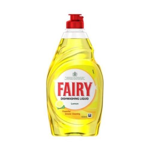 Fairy Liquid Lemon 433ml (10 x 433ml)