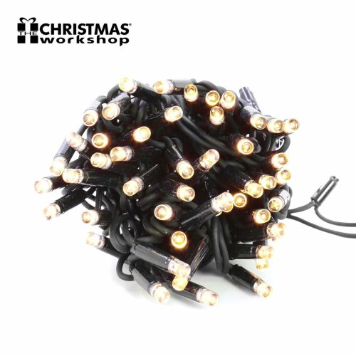 The Christmas Workshop 100 LED Connectable String Lights Warm White