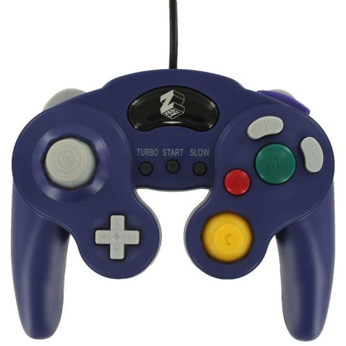 ZedLabz wired controller for Nintendo GameCube - Purple