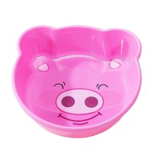 2PCS Children Cartoon Washbasin Thickened Newborn Small Basin[Pink]
