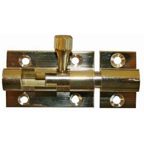W4 2in Necked Brass Bolt Lock