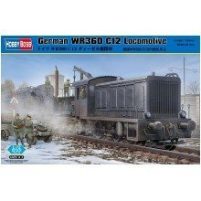 Hbb82913 - Hobbyboss 1:72 - German Wr360 C12 Locomotive