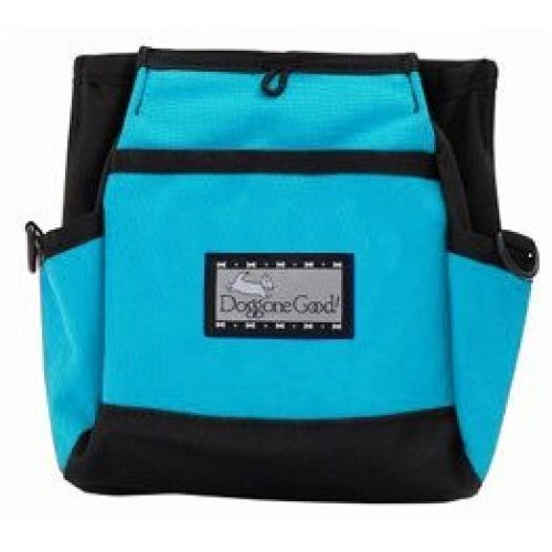 Doggone Deluxe Rapid Rewards Turquoise Bait Bag with Belt