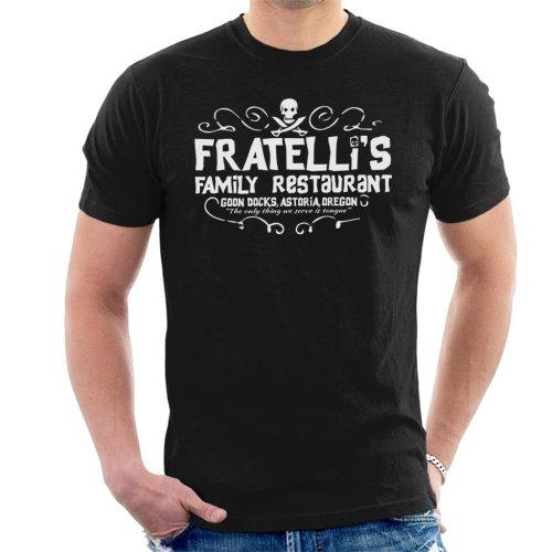 (XX-Large) Fratellis Restaurant The Goonies Men's T-Shirt