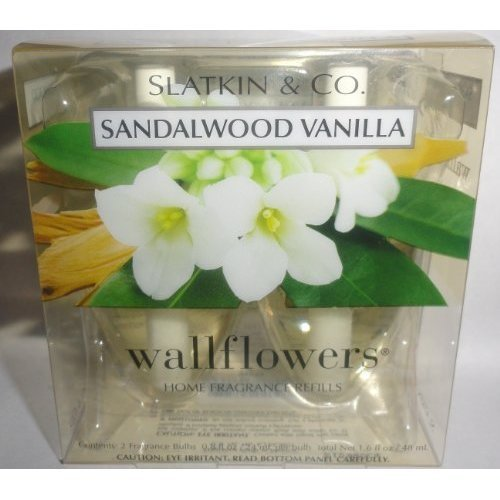 1 X Bath and Body Works Slatkin & Co Sandalwood Vanilla Wallflowers Home Fragran