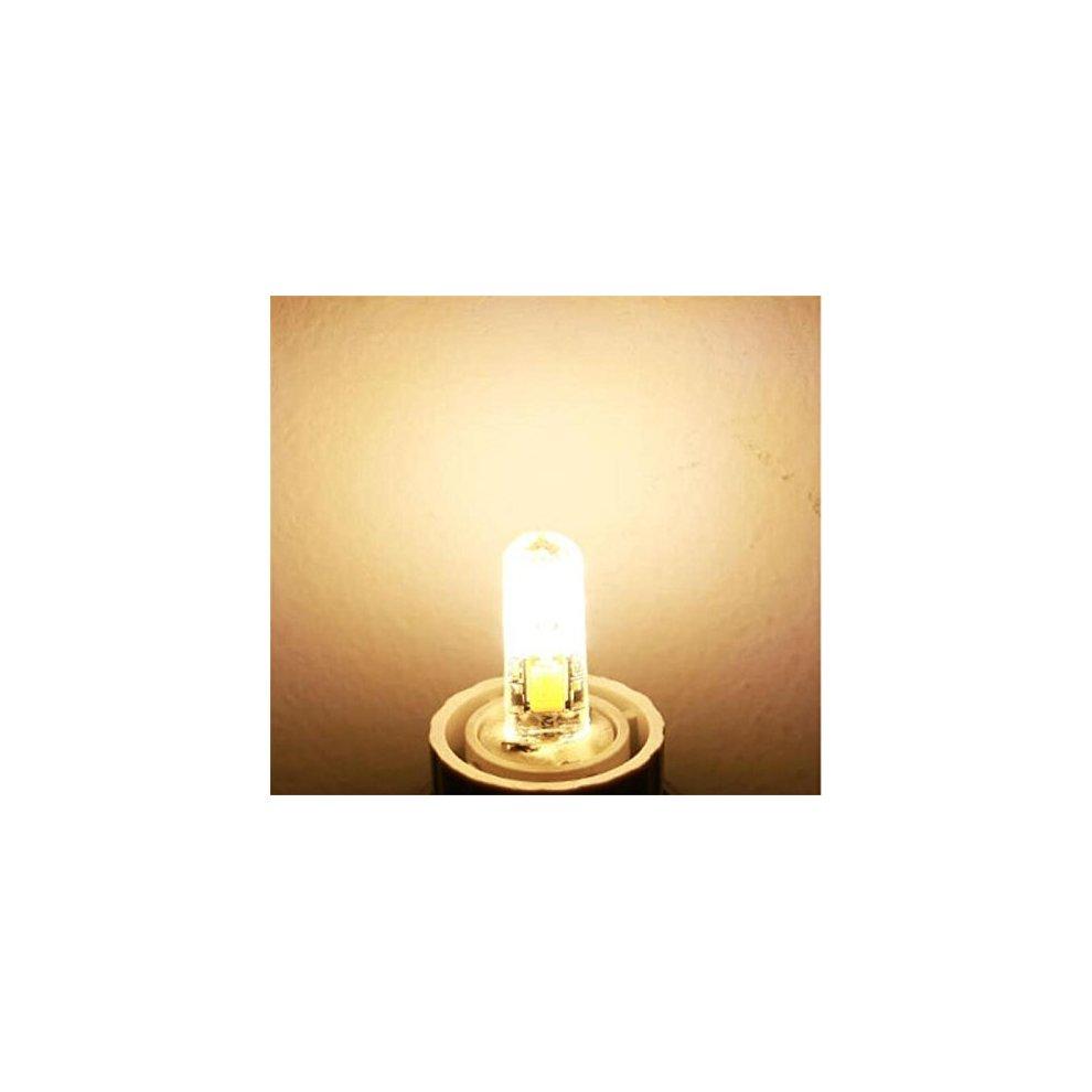 10 Pack - DC 12V G4 LED Bulbs 1 Watt 24 x 3014 SMD 80LM Equivalent 10W  Halogen Lamp, Warm White 2700K - 3200K