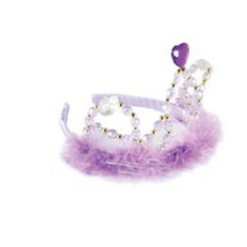 Aeromax, Inc. TJWL-PP Purple Plastic Jewel Tiara Headband