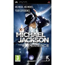 Michael Jackson The Experience Sony PSP Game
