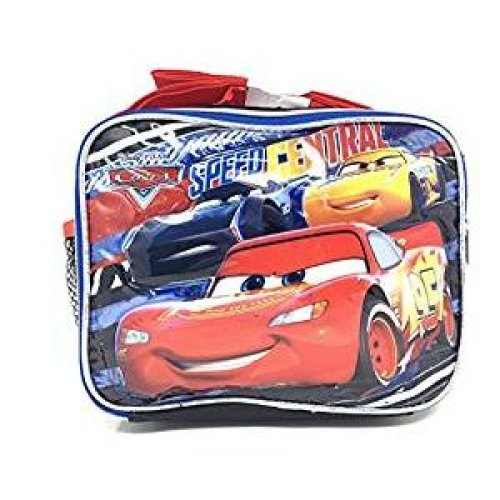 Lunch Bag - Disney - Car Speed Central Kit Case New 004828