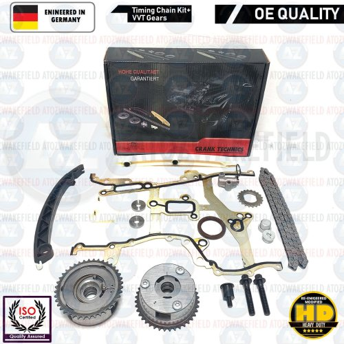 FOR VAUXHALL ASTRA J BRAND NEW TIMING CHAIN VVT GEARS KIT A14XEL A14XER A14NEL