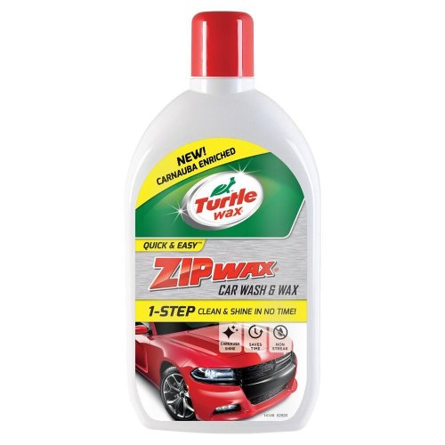 Turtle Wax Zip Super Concentrated Car Wash Shampoo & Wax 1 Litre
