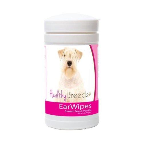 Healthy Breeds 840235172833 Sealyham Terrier Ear Wipes - 70 Count