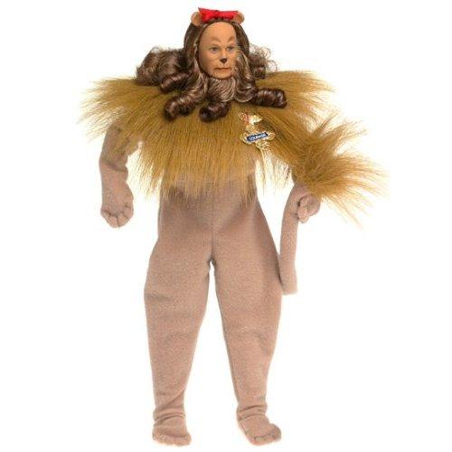 Barbie Ken as the Cowardly Lion in the Wizard of Oz