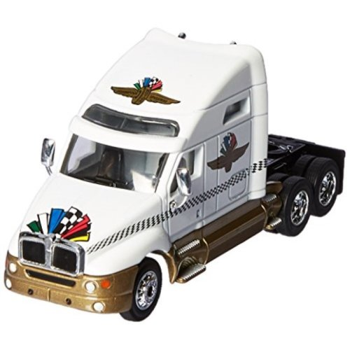 Greenlight 29826 2015 Kenworth T2000 Transporter Indianapolis Motor Speedway 1-64 Diecast Model