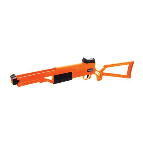 Petron Sureshot Toy Rifle - pump action - shoots sucker darts and arrows
