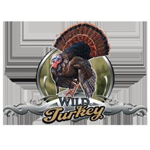 Western Recreation Ind 5254 Wild Turkey Decal Color 6X8.5
