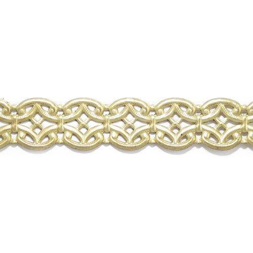 """U-Paint Vintage Brass Deco-Trim-Byzantine Scroll 5/8"""""""