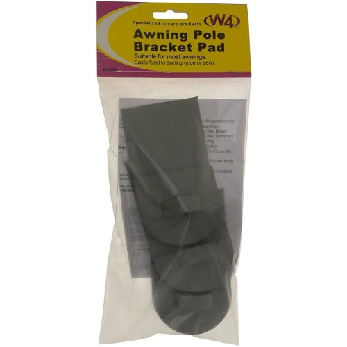 W4 3 Piece Awning Pole Bracket Pad - ASRTD