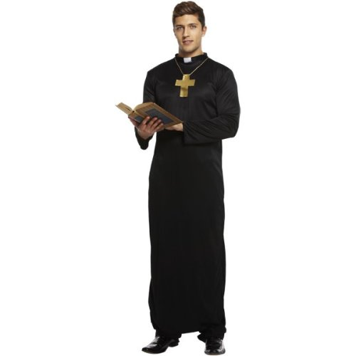 Vicar Fancy Dress Costume